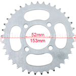 428 37 Teeth Rear Sprocket for 110cc-250cc Dirt Bike