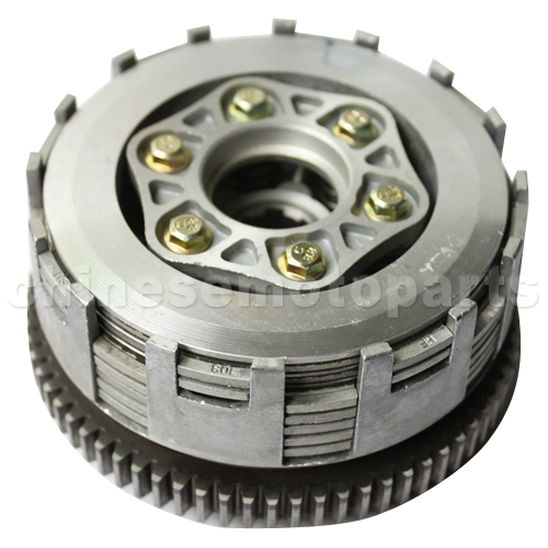 SEO_COMMON_KEYWORDS Clutch Assembly for CB250cc Water-cooled ATV, Dirt Bike & Go Kart