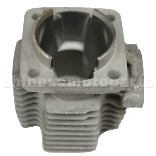 44mm Bore Cylinder Block for 2-stroke 49cc (44-6 Engine) Pocket Bike, Mini Quad, Mini Chopper,Mini Dirt Bike