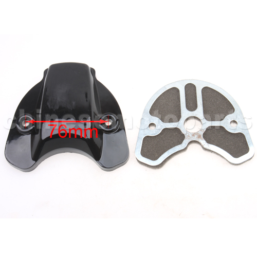 Dust Cap of Side Cover for 2-stroke 50cc Moped & Scooter