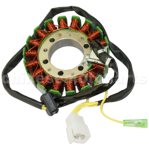 18-Coil Pole Magneto Stator for CF 250cc ATV Go Karts Dune Buggy Scooters Moped!