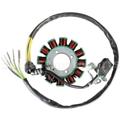 12-Coil Magneto Stator for CG 150cc-200cc ATV, Dirt Bike & Go Kart