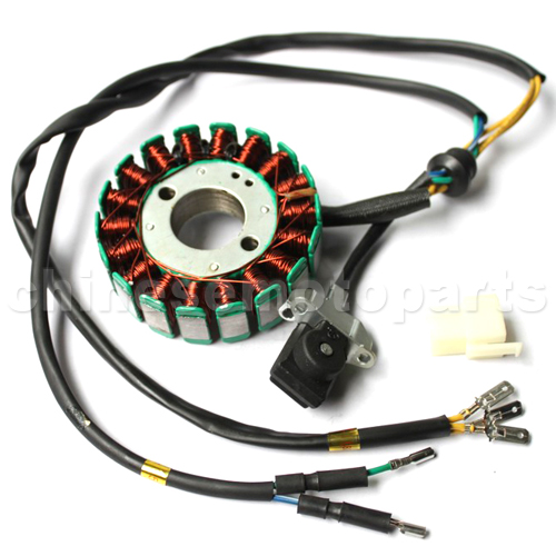 18-Coil DC-Magneto Stator for CB250cc Water-Cooled ATV, Dirt Bike