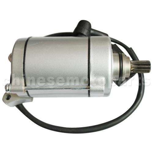 9-Teeth Starter Motor for CG 150cc-250cc Air-Cooled ATV,Go Kart /& Dirt Bike