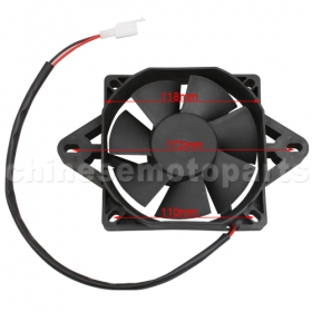 Fan for Motorcycles