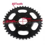428 40 Teeth Rear Sprocket for 125cc-200cc ATV & Dirt Bike